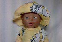 Baby Born doll clothes / Itse ommeltuja baby born nuken vaatteita