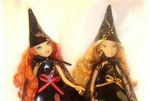 Monster high, winx dolls clothes / Itse ommeltuja nuken vaatteita