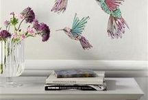 Inspiration | Decals For Living Room