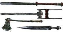 RPG Armes et Potions