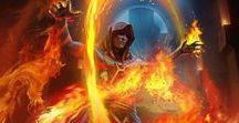 RPG Combat et Magiciens