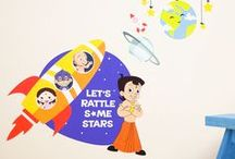 Collection| Wall Stickers: Chhota Bheem