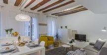 Proyecto Home Staging || Center Pamplona Apartment || / Proyecto de Home Staging realizado por Blanco y de madera para el apartamento de alquiler Center Pamplona Apartment