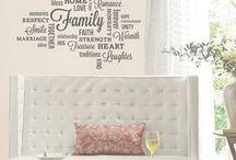 Wall Stickers | Words to live by