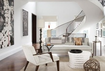 #white and bright habitat / fresh spirited room with class and style