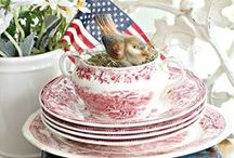 Sweet July 4th / ~For those who ❤ July 4th~ #4th #independence #patriotic