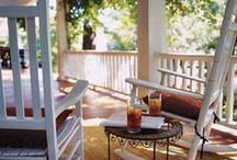 Sweet Porches / ~Oh, divine space~  #porches / by Sweetly Chic