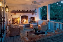 Home ~ Porches, Outdoor/Green Rooms & Spaces