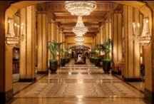 Hotel Design & Architecture / by The Roosevelt New Orleans, A Waldorf Astoria Hotel