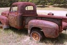 Vintage vehicles, rust buckets & pick ups