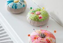 Sweet Pincushions / #pincushions / by Sweetly Chic
