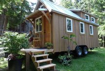 Tiny Cottage / Cool designs and clever ideas related to Tiny Houses and Tiny Cottages.  Also, off the grid living ideas.