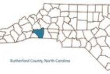 Rutherford County, NC / The NC County of the week for December 14th through December 20th is Rutherford!