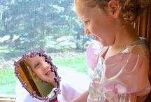 Princess Pretend Play / Give your little girl hours of Princess fun. This board is geared to inspire imagination, creativity and lots of fairy-tale adventures. Tiara's are most welcome!