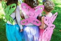Fairy Pretend Play / Encourage your little fairies to fly around the yard looking for wisps and other fun woodland creatures. Get inspired with Fairy themed crafts, activities, pretend play costumes and recipes galore!