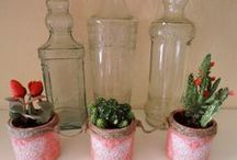 Jars Decor / DIY Tarros de cristal decorados