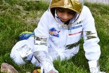 Astronaut Pretend Play / Years after Armstrong's mission to the moon, space travel is still one of the coolest things kids #pretend play. MyPretendPlace.com can help you out.
