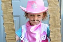 Cowboy & Cowgirl Pretend Play / Get your little cowpoke out and about with fun activities, crafts and recipe ideas. We'll keep 'em happy and healthy! #mypretendplace