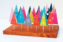X M A S ☞ advent / Advent calendars diy ideas