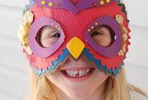 Masky / Tvoření s dětmi