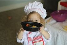 Chef Pretend Play / Pretend play ideas for all the budding bakers and curious little cooks in your lives. Help inspire them now to eat healthier later.
