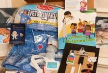 Vet Pretend Play / Help your child learn to take care of their furry friends. Inspire Vet Pretend Play with these great activities and recipes from MyPretendPlace.com.