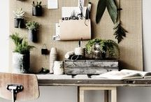 """Creative Desks / Some are tidy; some are messy – but we love it! This board is inspired by our wallpaper collection """"Passion"""" – available at rebelwalls.com"""