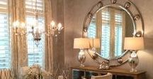 Dining Room / Dining rooms are places of memories in the home. Shine the best light for those picture perfect moments!