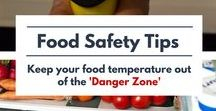 Food Safety / Tips all about food safety, sanitation, storage, and preservation. May include some humor. Your go-to place for food safety 101.