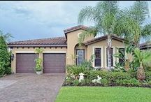 Homes in Riviera Bella Community / Beautiful Mediterranean style homes, located just minutes from Orlando, Florida. Luxury, gated community located on the St. Johns River.