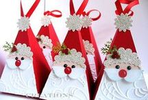 Christmas - Cards, Tags, Wrapping / by Pat Lauder