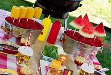 Sommer-Picknick / Ideen für Sommer-Picknick: Deko, Rezepte, und, und, und :)