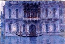 CLAUDE MONET / The Art Of Painting: CLAUDE MONET - PAINT IS THE WAY YOU IMAGINE BEING HUMAN REALITY. (MONOGRAPHS)