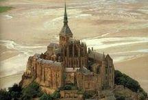 MONT SAINT MICHEL ✈ / Favorite places I've visited: MONT SAINT MICHEL,NORMADIE, FRANCE