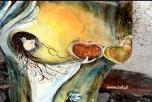 Moje Anioły | My Angels / Anioły malowane na drewnie na każdą okazję i dla każdego