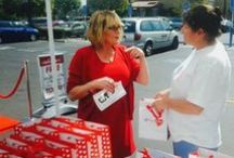 Red Bag of Courage / WomenHeart distributes Red Bags of Courage filled with life-saving information and materials to help women take charge of their heart health. / by WomenHeart
