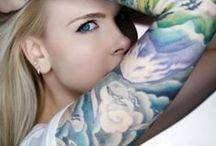 The Art of Tattoo  .ༀ / The art of tattoos on the body