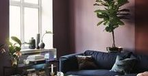Livingrooms to die for / Its' easy to be inspired to make this important room a luminant and relaxing space through your choice of color. Look at these selected pieces for the livingroom.