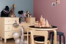 Playful Children's Room / Sweet, cool, clever, fun – this is a collection of colourful interior designs for the children's room. (or for your own!)