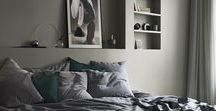 Beautiful Bedrooms / The bedrooms are important rooms in the house. It's a place where we want to feel safe and relaxed. With some great color schemes, it's easy to create the atmosphere you like the most. Enjoy!