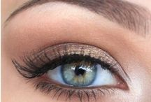 Makeup / Gorgeous makeup ideas for pale skin and blue eyes ... Plus some other bits and bobs