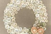 BUTTONS and CRAFTS with BUTTONS! / buttons make awesome crafts! / by LeeAnn Williams