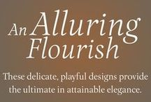An Alluring Flourish / Delicate and Playful