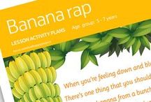 Brilliant Bananas / Use these colourful resources and videos to teach children everything they need to know about bananas. Part of The Tesco Eat Happy Project.