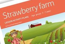 Sweet Strawberries / These resources and videos are perfect for teaching children everything they need to know about strawberries, from the growing to the eating. Part of The Tesco Eat Happy Project.