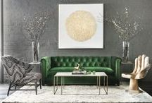 Fall Decor / Fall decor inspiration. Taking it a few shades darker and adding lots of texture.