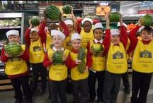 Farm to Fork Trails with The Tesco Eat Happy Project / Farm to Fork is our nationwide initiative dedicated to getting children interested in where their food comes from. Book a Trail for your school here: http://www.eathappyproject.com/farm-to-fork/. Part of The Tesco Eat Happy Project.