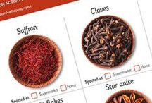 Fragrant Spices / Did you know that cinnamon is actually the bark of a tree? Or that pepper is made from tiny berries? These resources and videos are great for helping primary school children learn about spices. Part of The Tesco Eat Happy Project.