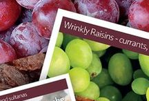 Wrinkly Raisins / When you eat a raisin, do you ever wonder why it's so wrinkly? Use these resources and activities to help children learn all about raisins and food preservation. Part of The Tesco Eat Happy Project.