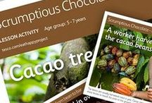 Scrumptious Chocolate / Help children learn about Scrumptious Chocolate, from its Farm to Fork journey, to its rich history and why it should only be enjoyed as a treat. Part of The Tesco Eat Happy Project.